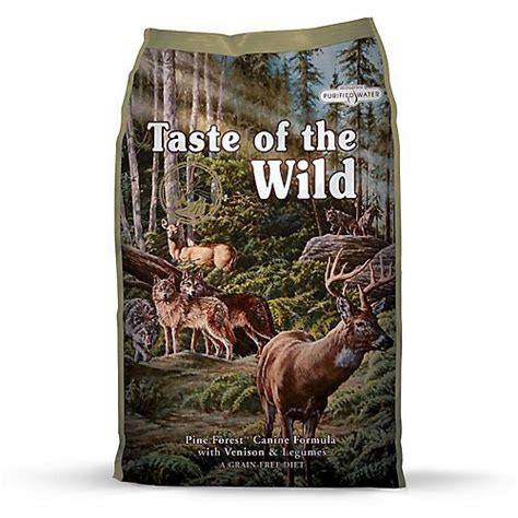 taste   wild pine forest canine dry dog food