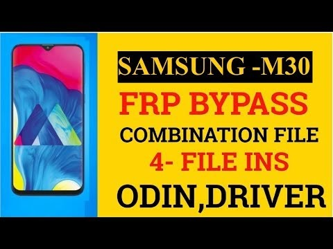 Samsung M30 [M305f] Frp bypass with combination 100% remove
