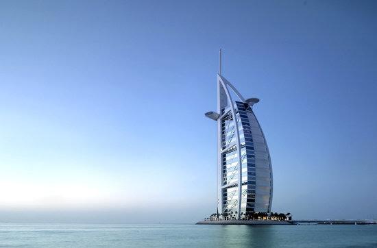 The World's Only 7 Stars Hotel is Burj Al Arab Hotel Dubai