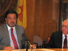 Gov. Richardson with Sen. John Arthur Smith