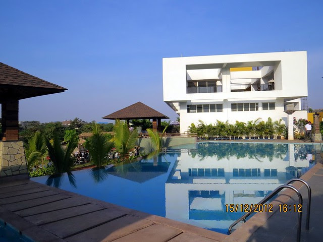 Swimming Pool & Club House at Mont Vert Vesta, Urawade Pirangut, Goan Fiesta 15th & 16th December 2012