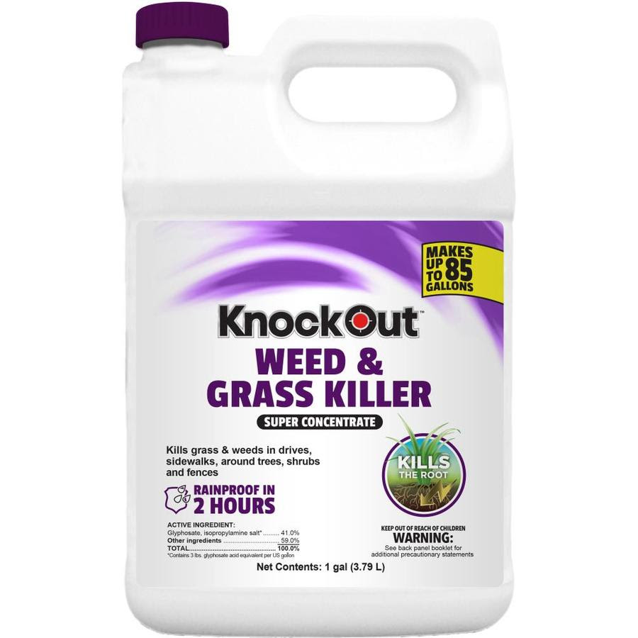 Knock Out 1 Gallon Concentrated Weed And Grass Killer In The Weed Killers Department At Lowes Com
