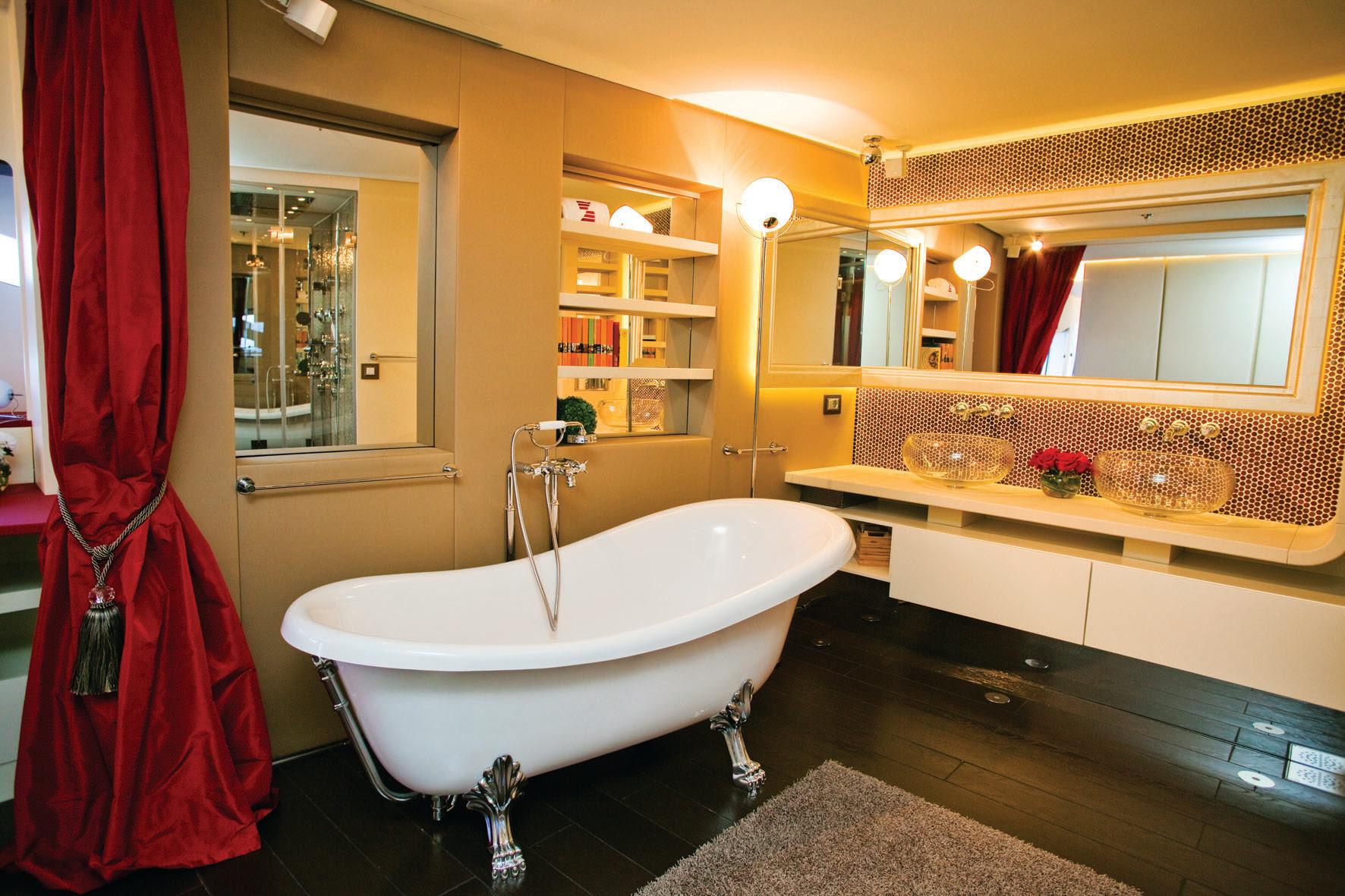 Superyacht JoyMe Master Bathroom - Interior design by Marijana