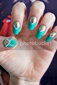 art deco nail art, tutorial, vintage nail art