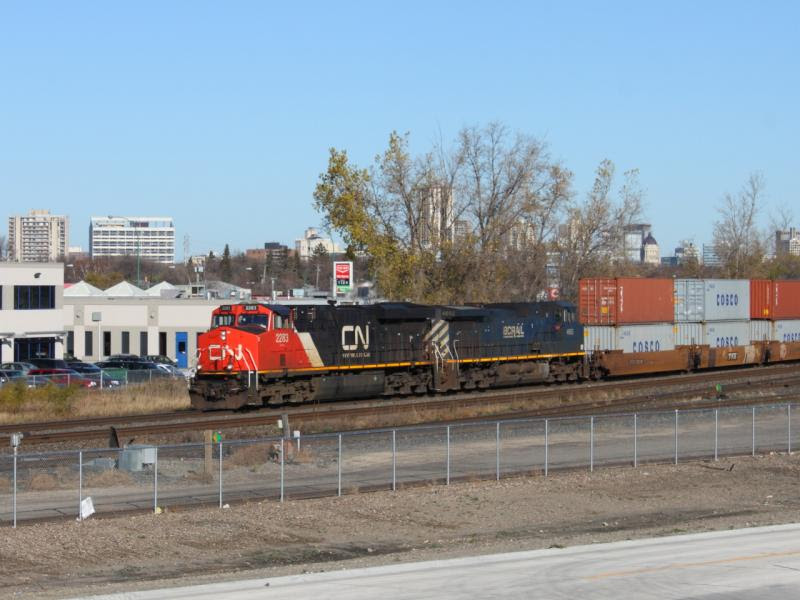 CN 2283 in Winnipeg