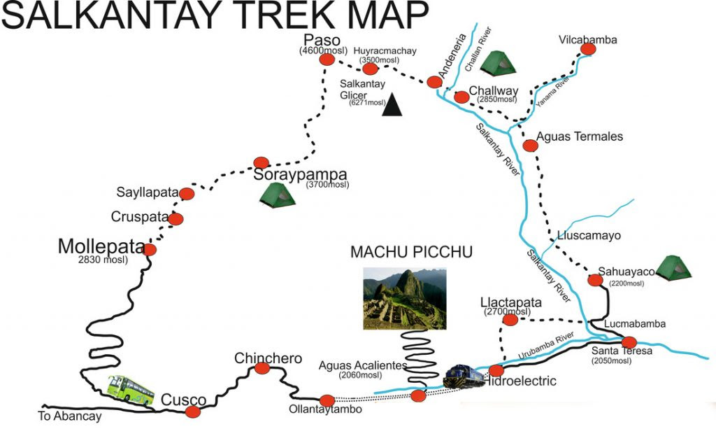 salkantay trek 5 days map 1024x613