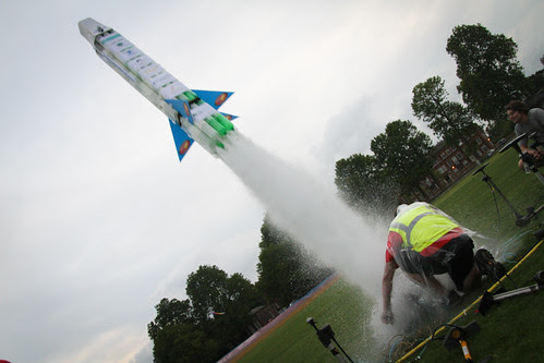 Blast Off of the World's Largest Water Rocket by National Physical Laboratory