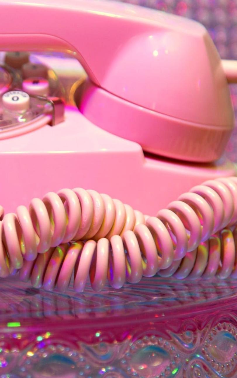 View Aesthetic Lockscreen Wallpaper Tumblr Pink Hd PNG