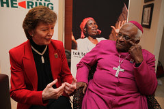 Desmond Tutu and Mary Robinson