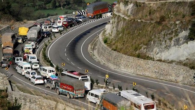 No Fresh Traffic On Highway Tomorrow