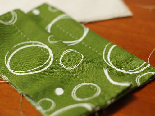 How to make a petit pouch 14
