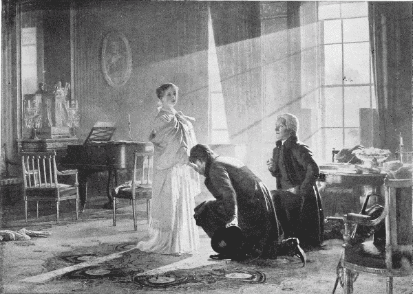 QUEEN VICTORIA RECEIVING THE NEWS OF HER ACCESSION TO THE THRONE, JUNE 20, 1837