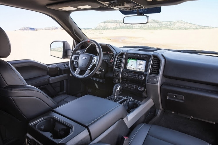 No pricing has been announced for the 2017 Ford F-150 Raptor Supercrew ...