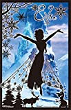 132ピース ジグソーパズル クリアスタンドパズル アナと雪の女王 シルエット・エルサ