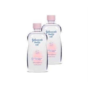 2 Stk. Johnsons Baby Öl- die ideale Pflege für trockene Haut- für Sie und Ihr Baby. 500ml