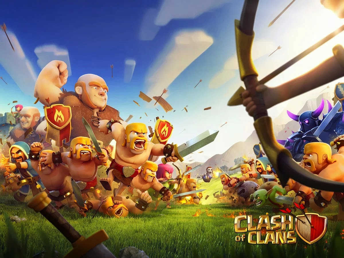 Clash Of Clans Wallpapers Sf Wallpaper