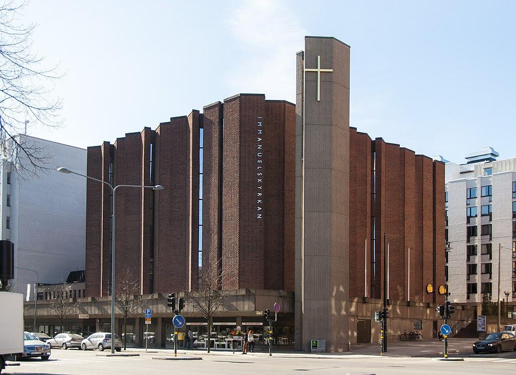 Immanuelskyrkan i januari 2009