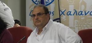 Σίμος Ρούσσος - Δήμαρχος Χαλανδρίου
