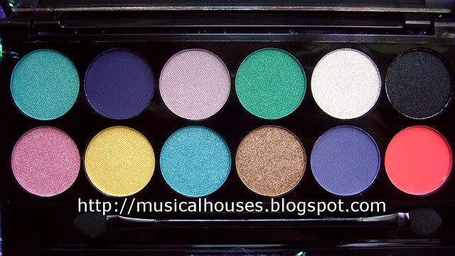 sleek aqua collection palette shades