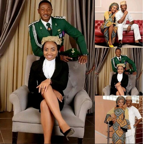 Pretty Lawyer Finally Marries Her Soldier Heartthrob After Years Of Dating. PICS