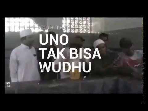 Heboh, Sandiaga Uno Tak Bisa Wudhu. Netizen : Sekolahnya dimana...