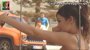 Catarina Rebelo sensual na serie Amar depois de amar