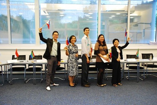 Philippines represent with John Castillo, Sol Victorioso, Ron de Vera, Sarah Cruz and Damcelle Torres