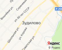 Карта села Зудилово в Алтайском крае