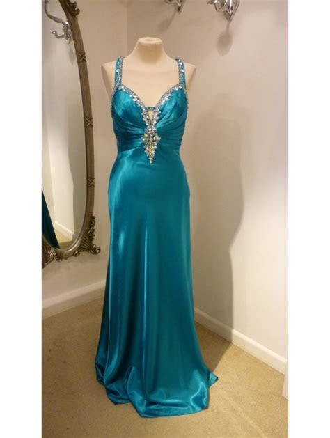 Goya GY806049 Open Low Open Back Dress with crystal detail