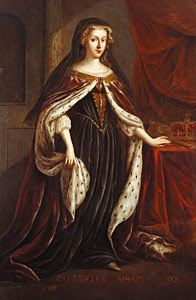 Mary, Queen of Scots by Jacob de Wet II, from the Great Gallery at Holyrood Palace.