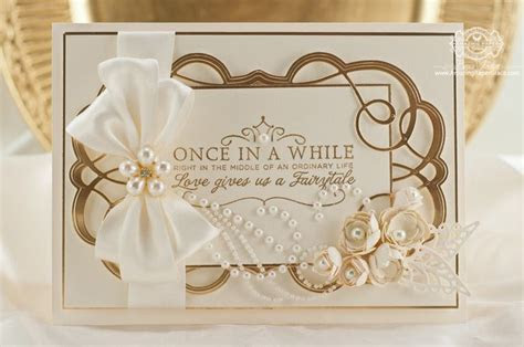 Elegant Card Making Ideas by Becca Feeken using