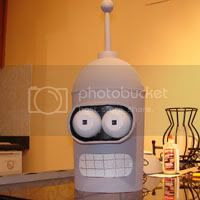 Bender's head basically complete.