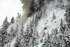 2011 avalanche control work