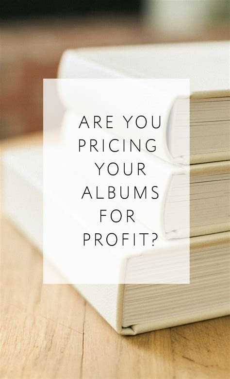 How to Price Wedding Albums   Photography Business Tips