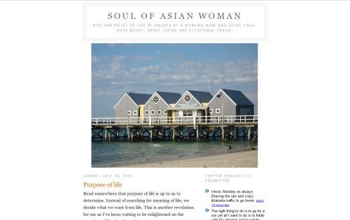 Soul of Asian Woman