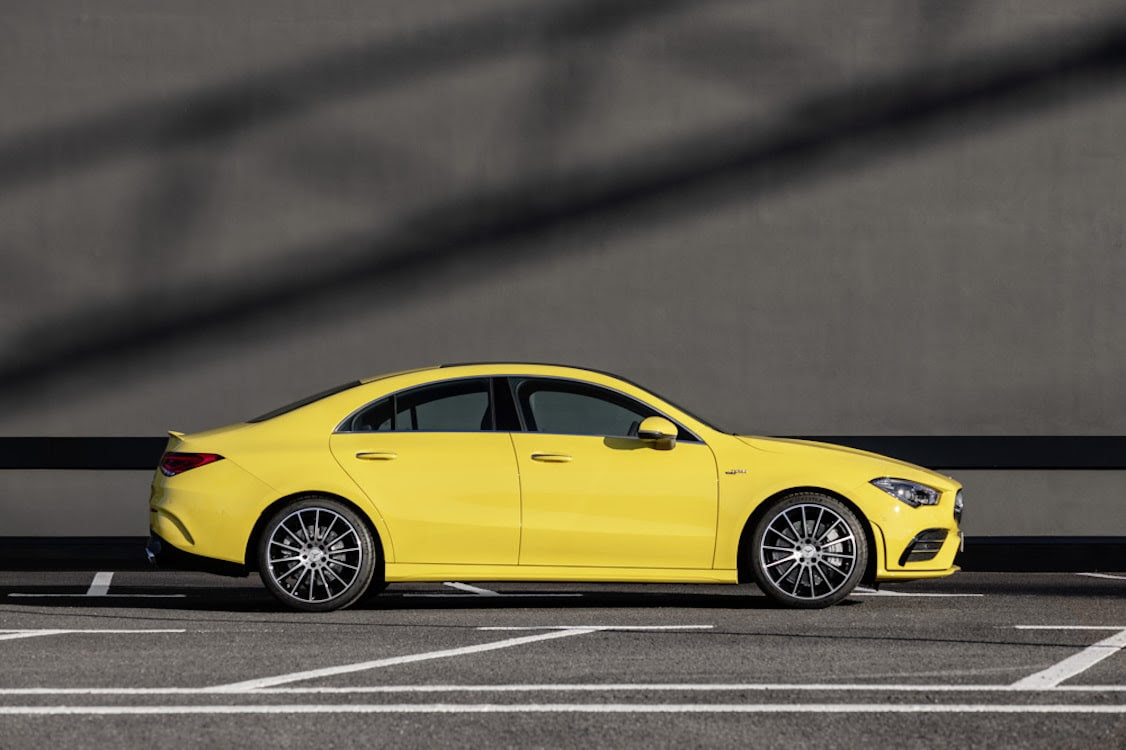 Mercedes-AMG Upping the Game With New CLA 35 ...