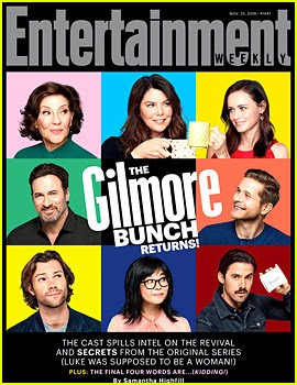 'Gilmore Girls' Cast Has a 'Brady Bunch' Moment for 'EW' Cover!