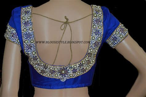 MODELS OF BLOUSE DESIGNS: CUSTOMISED BRIDAL DESIGNER BLOUSE