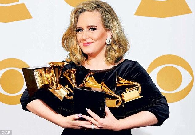 Ela está fora: Adele disse que está tendo uma pausa de cinco anos desde a música para se concentrar no amor