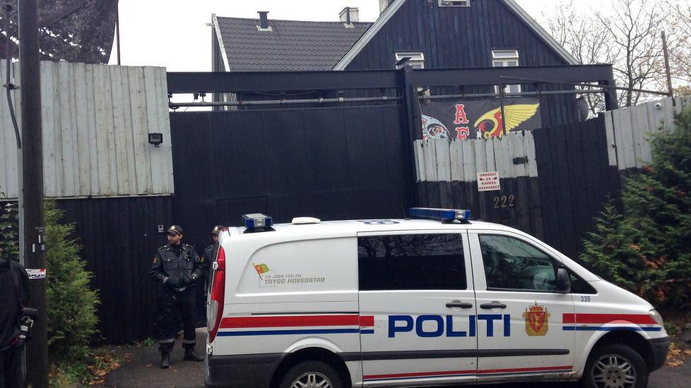 FÅR BEHOLDE «FESTNINGEN»:  Hells Angels klubblokaler i Oslo blir ikke inndratt til fordel for statskassa. Foto Harald Klungtveit / Dagbladet
