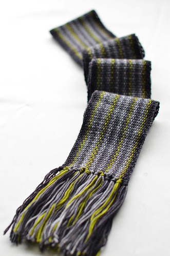 Scrappy Lengthwise Scarf