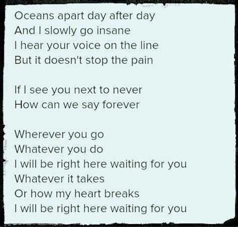 Richard Marx, Right Here Waiting For You   Lyrics I Love