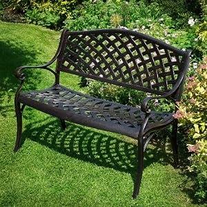 Outdoor Metal Bench