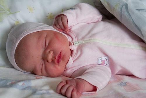 A baby girl was born / Sündis beebitüdruk