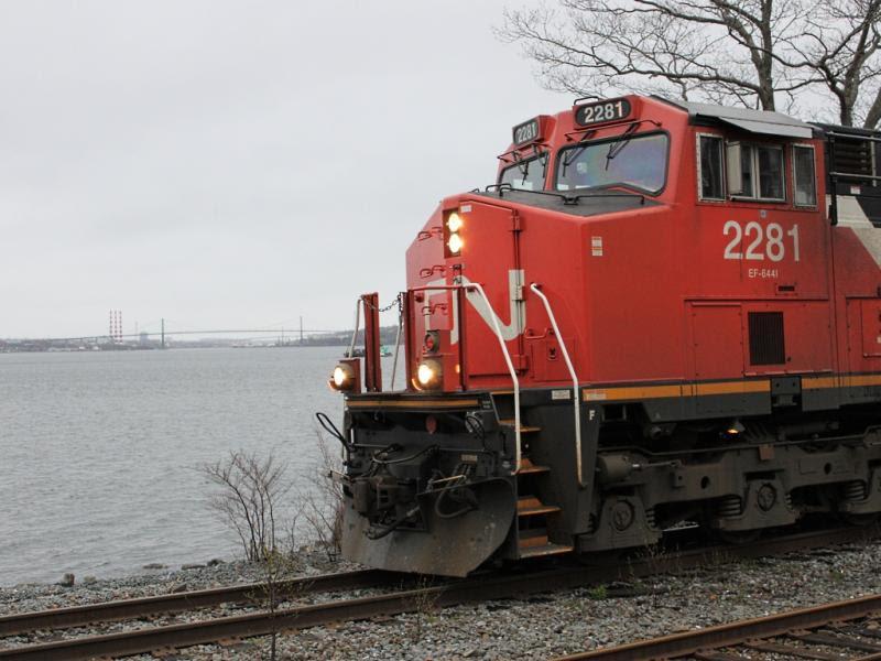 CN 2281 in Halifax