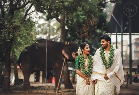 24 Beautiful Kerala Wedding Photography ideas from top