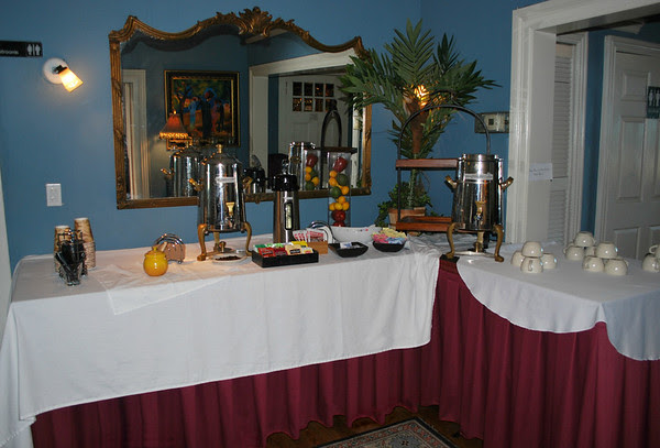 Afternoon Coffee and Tea Service at the Casablanca Inn