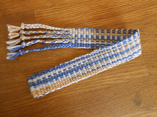 weaving band experiment