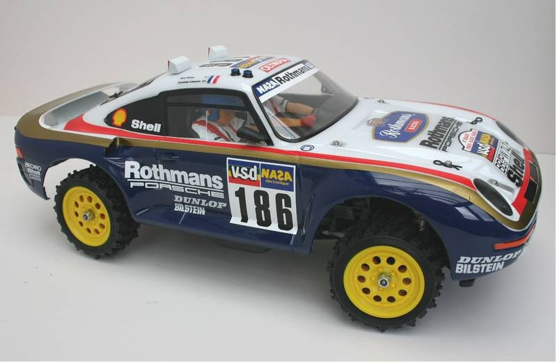 The Holy Grail Tamiya Porsche 959 4wd Restoration Thread
