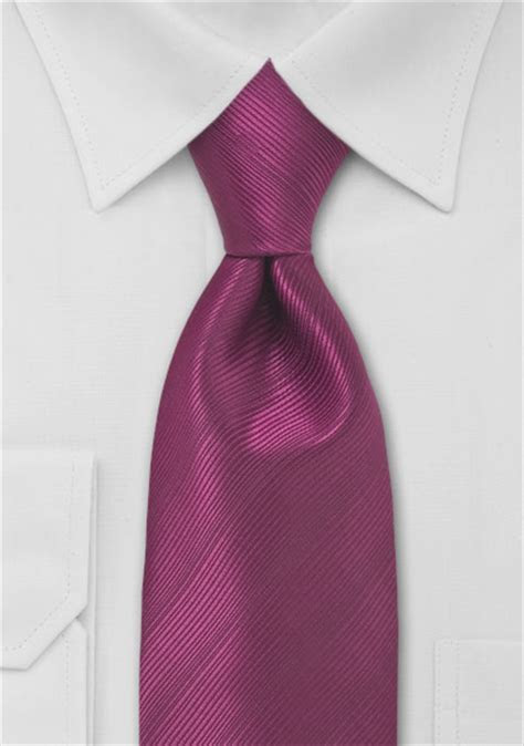 Mens Tie in Magenta Red   Bows N Ties.com